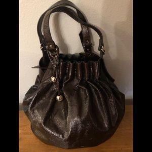 Loeffler Randall Brown Leather Tote Handbag